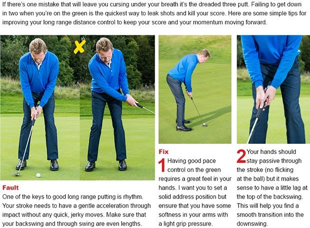 Putting tip