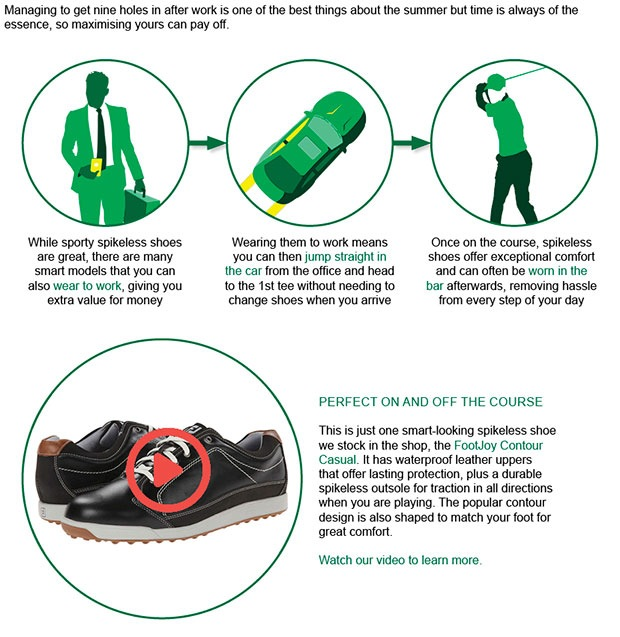 FootJoy Contour Shoes Article