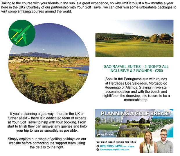 Your Golf Travel Article