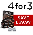 Titleist 4 for 3 - £39.99