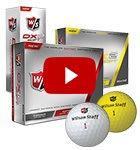 Wilson Staff DX2 balls