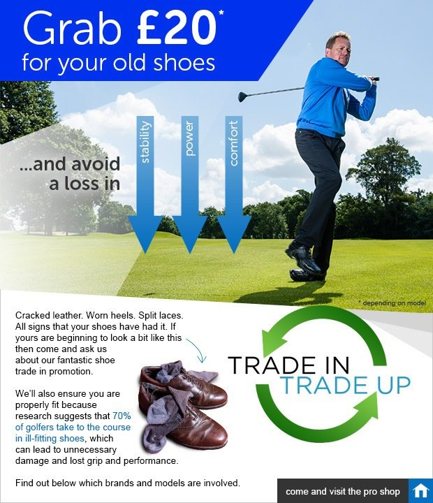 Shoe trade in