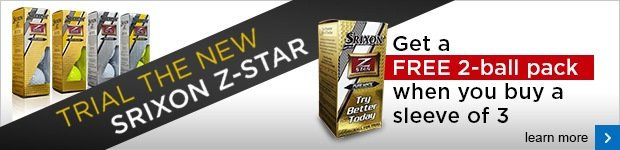 Srixon 5 for 3 on new Z-Star