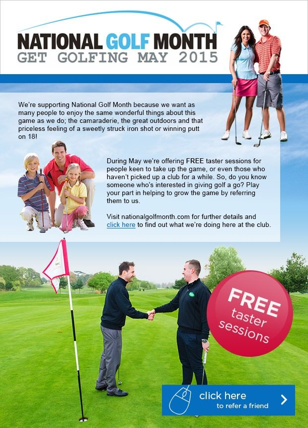 National Golf Month 2015