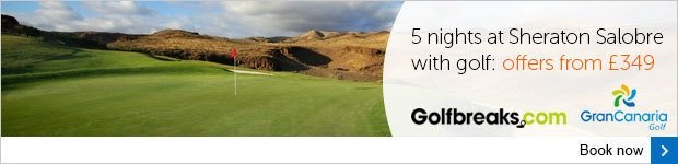 Golf breaks in Gran Canaria from £349