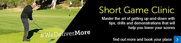 Short game clinic- #WeDeliverMore