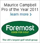 Maurice Campbell - Foremost Pro of the Year 2011