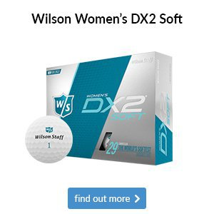 Wilson Staff Women's DX2 Soft Golf Balls